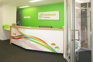 Headspace Reception Fitout