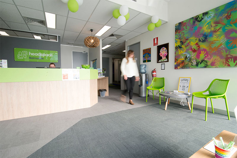 Headspace Bairnsdale Reception