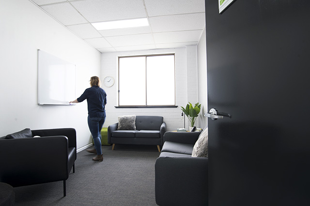 Headspace Wollongong Consult Room