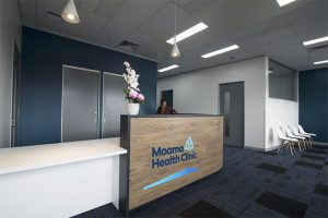 Moama Reception