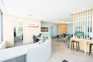 Panaceum Medical Reception Fitout