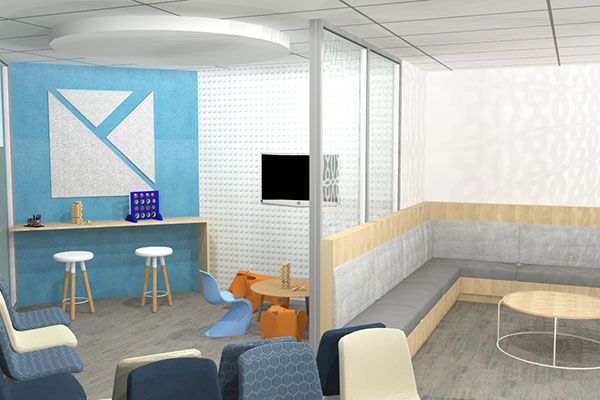 ENT Clinic Design Kids Waiting Area